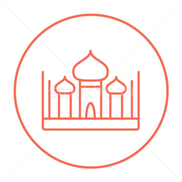 Mosque line icon. Stock photo © RAStudio