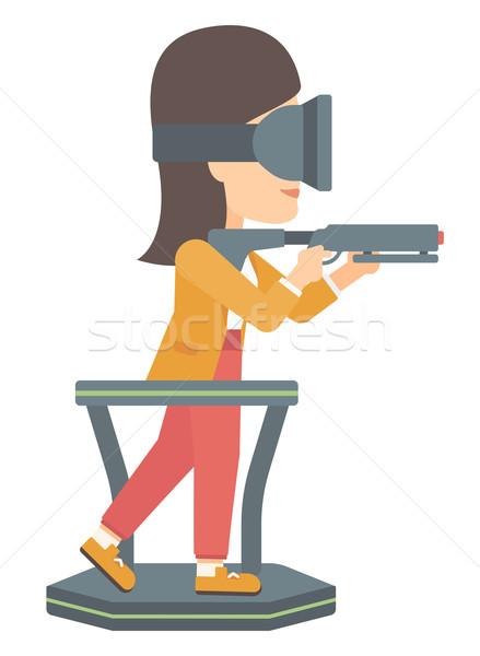 Full virtual reality. Stock photo © RAStudio