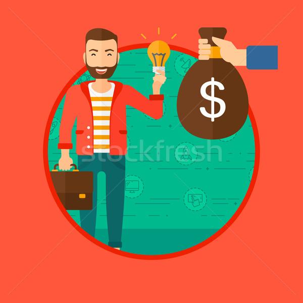 Successful business idea. Stock photo © RAStudio