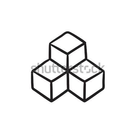 System part sketch icon. Stock photo © RAStudio