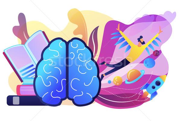 Imagination concept vector illustration. Stock photo © RAStudio