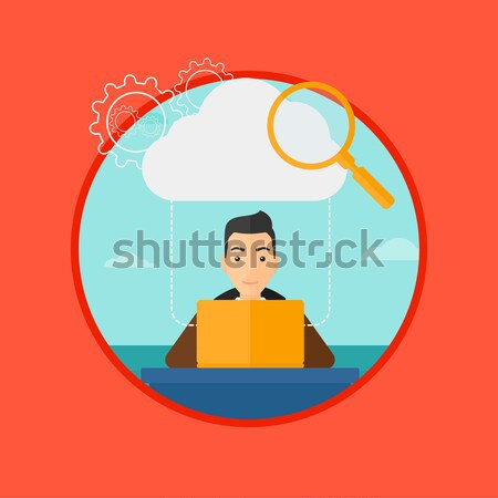 Smiling human resource manager. Stock photo © RAStudio