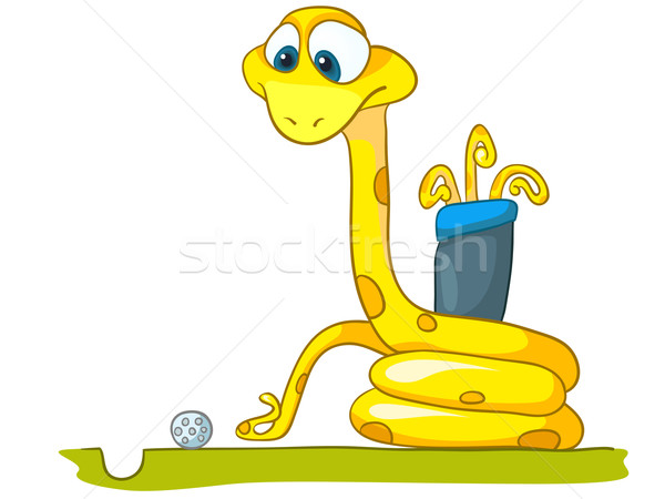 Cartoon Character Snake Stock photo © RAStudio