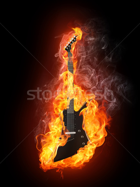 Electric Guitar Stock photo © RAStudio