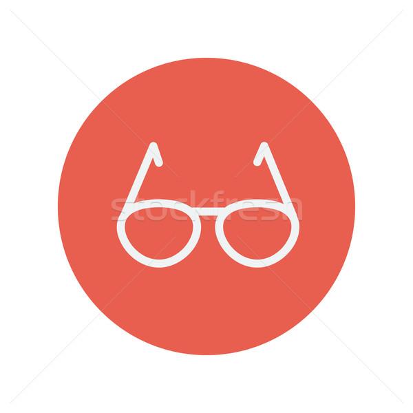 Sunglasses thin line icon Stock photo © RAStudio