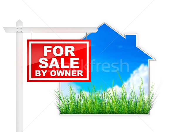 For Sale by Owner Stock photo © RAStudio