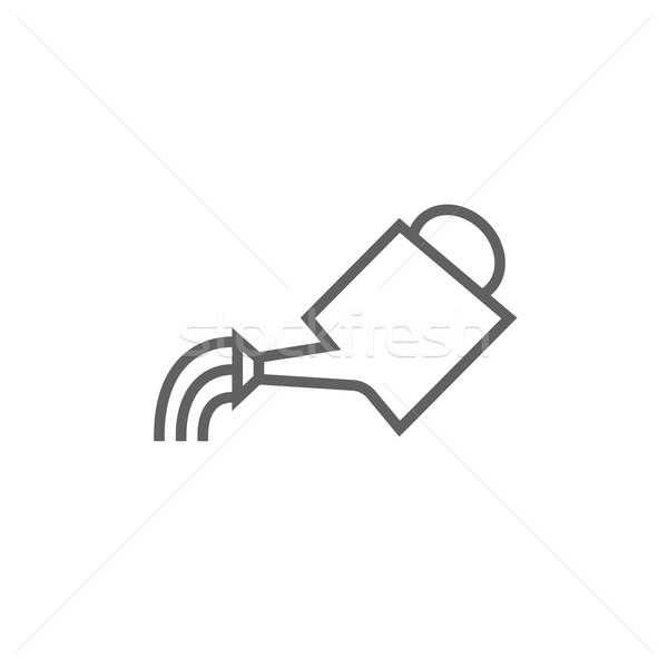 じょうろ 行 アイコン コーナー ウェブ 携帯 ストックフォト © RAStudio