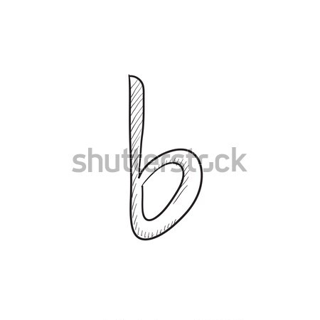 Musical note sketch icon. Stock photo © RAStudio