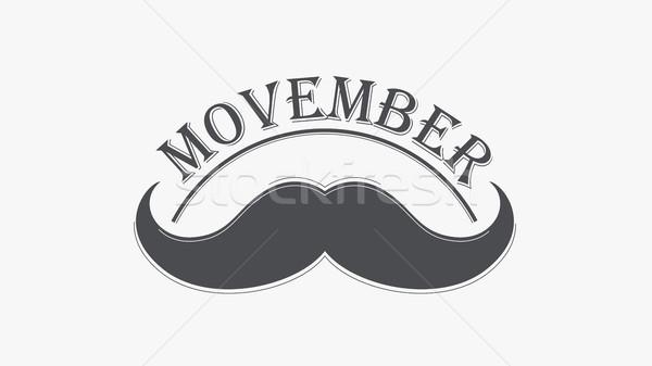 Movember cancer awareness event banner. Stock photo © RAStudio