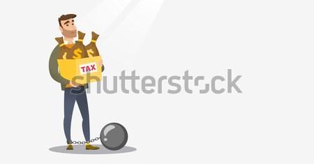 Tax slave. Stock photo © RAStudio