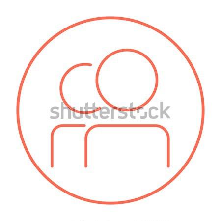 Tambourine line icon. Stock photo © RAStudio