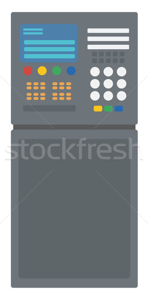 Industrial control panel Stock photo © RAStudio