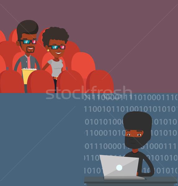 2 技術 バナー スペース 文字 ベクトル ストックフォト © RAStudio