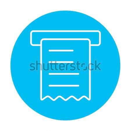 получение эскиз икона вектора изолированный рисованной Сток-фото © RAStudio