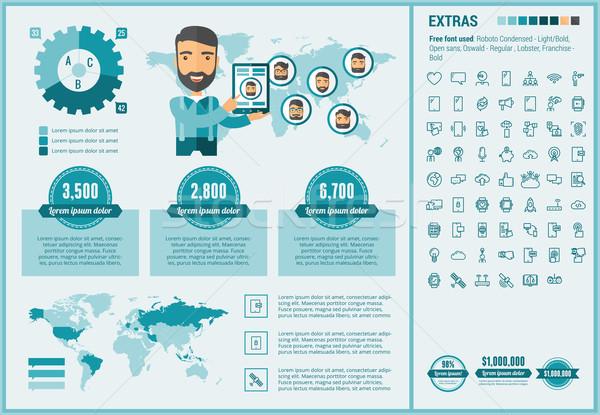 Mobilität Design Vorlage Elemente Illustrationen Stock foto © RAStudio