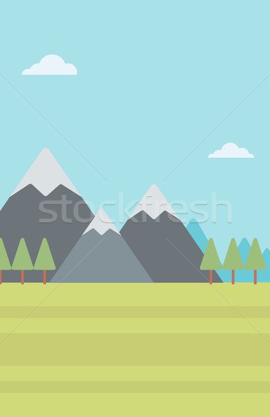 Background of mountain landscape. Stock photo © RAStudio
