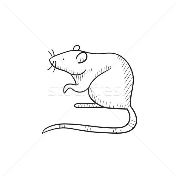 Mouse sketch icon. Stock photo © RAStudio