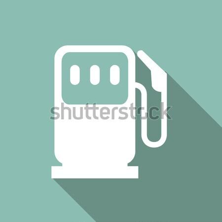 Eco icon ecologie schaduw vector eps Stockfoto © RAStudio