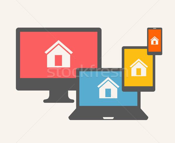 Home Concept. Stock photo © RAStudio