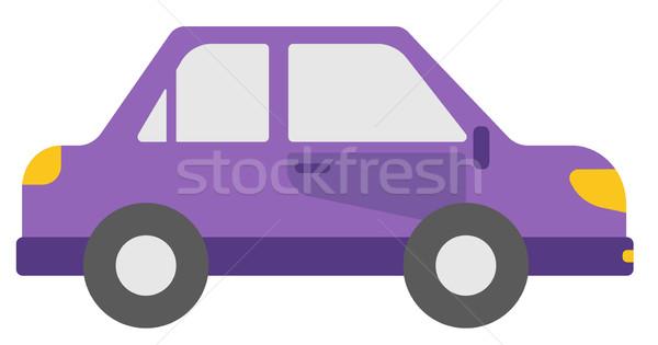 Small purple car. Stock photo © RAStudio