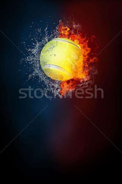 Tenis deportes torneo moderna anunciante plantilla Foto stock © RAStudio