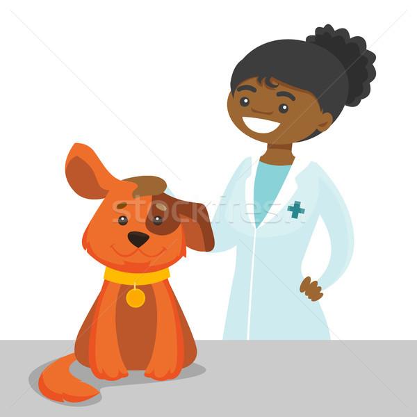 ветеринар врач собака больницу ветеринар Сток-фото © RAStudio