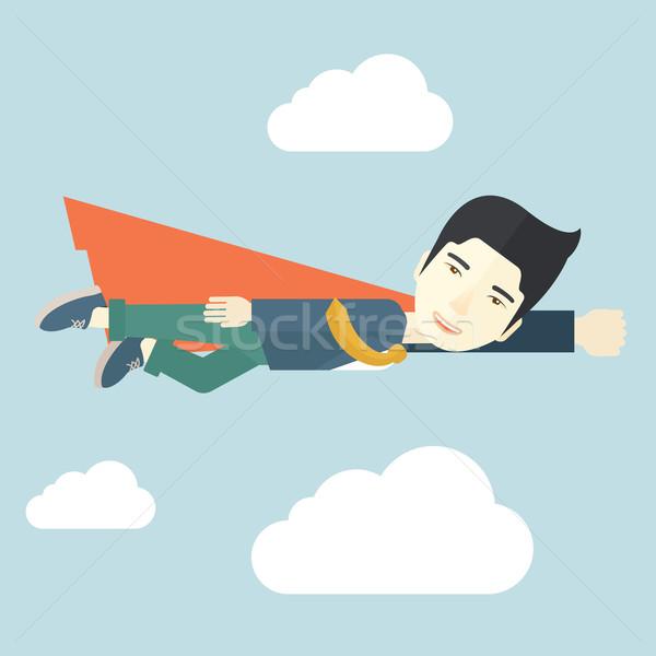 Superhero businessman Stock photo © RAStudio