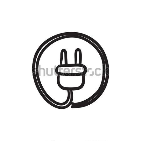 Plug sketch icon. Stock photo © RAStudio