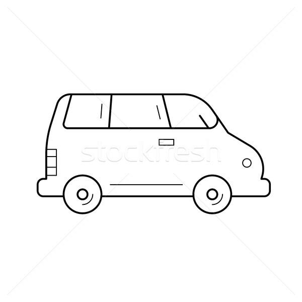 Van line icon. Stock photo © RAStudio