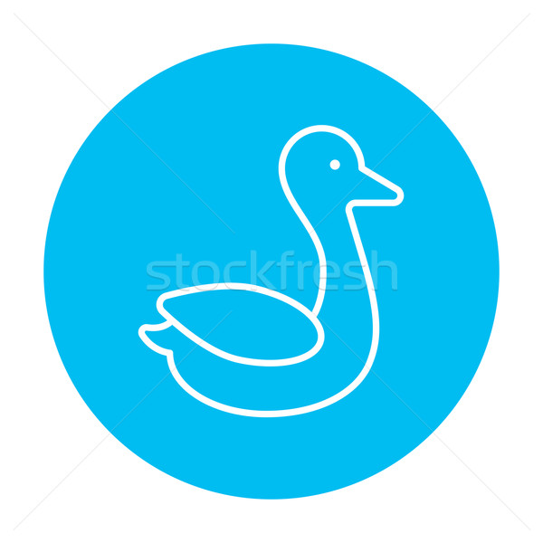 Duck line icon. Stock photo © RAStudio