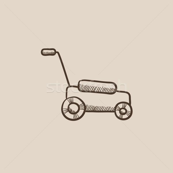 スケッチ アイコン ウェブ 携帯 インフォグラフィック 手描き ストックフォト © RAStudio