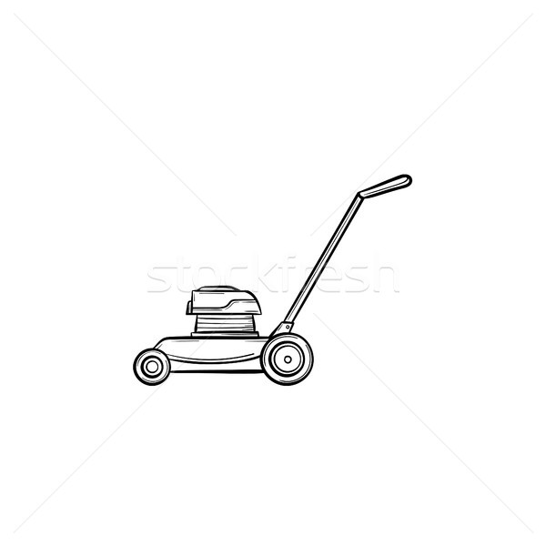 Mover hand drawn sketch icon. Stock photo © RAStudio