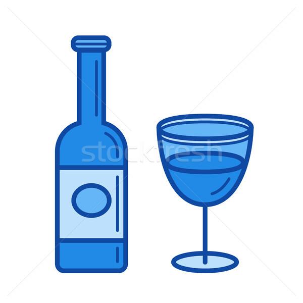 Wine line icon. Stock photo © RAStudio