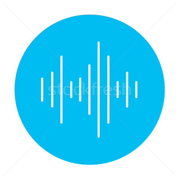 Equalizer line icon. Stock photo © RAStudio