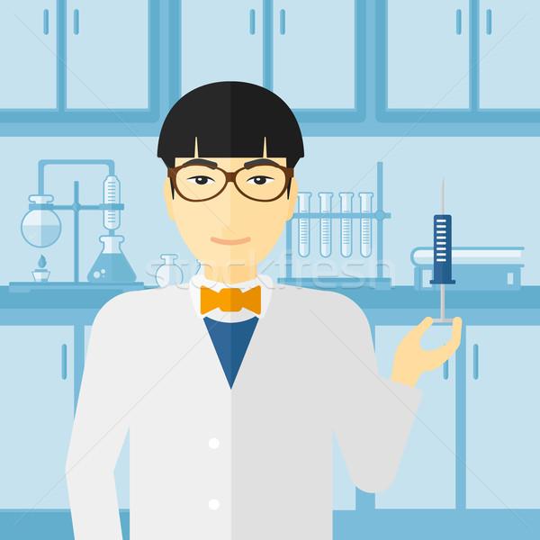 Arts spuit laboratorium asian Stockfoto © RAStudio