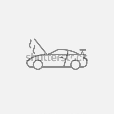 Pick up truck sketch icon. Stock photo © RAStudio
