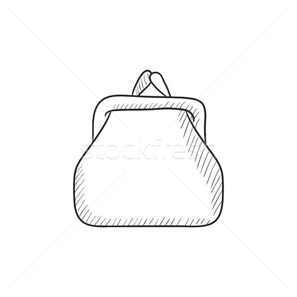 Purse sketch icon. Stock photo © RAStudio