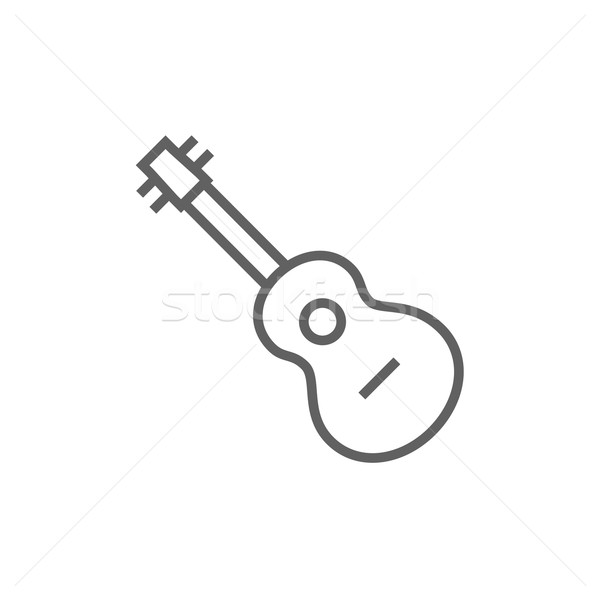 Guitar line icon. Stock photo © RAStudio