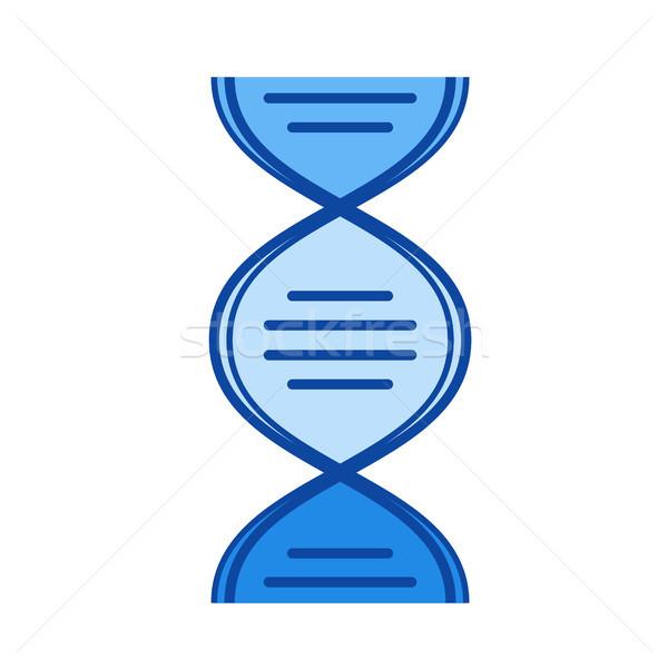Biology line icon. Stock photo © RAStudio