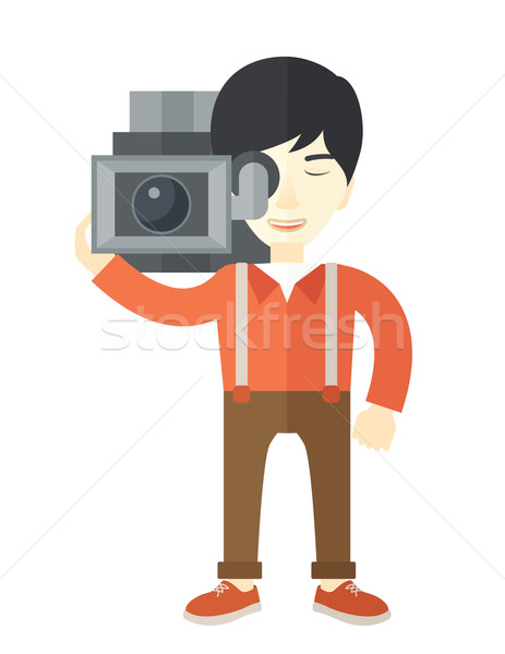 Cameraman. Stock photo © RAStudio