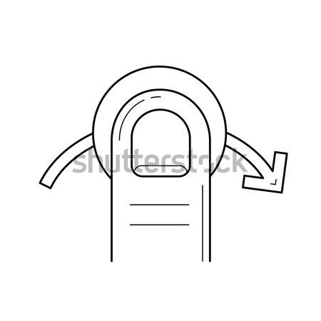 Tent line icon. Stock photo © RAStudio