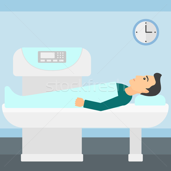 Magnetic resonance imaging. Stock photo © RAStudio