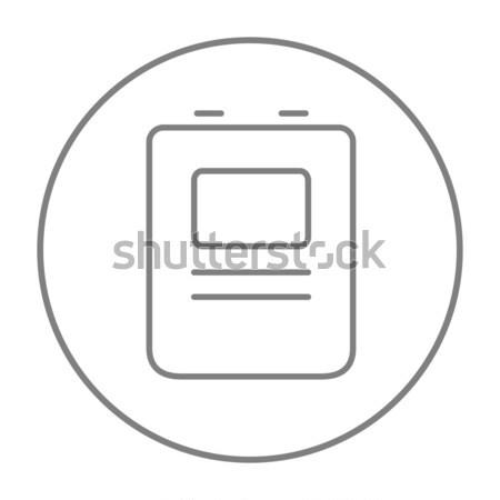 中心 除細動器 行 アイコン ウェブ 携帯 ストックフォト © RAStudio