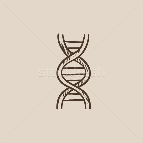 DNS rajz ikon háló mobil infografika Stock fotó © RAStudio