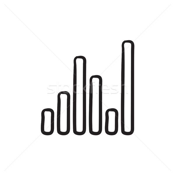 Ecualizador boceto icono vector aislado dibujado a mano Foto stock © RAStudio