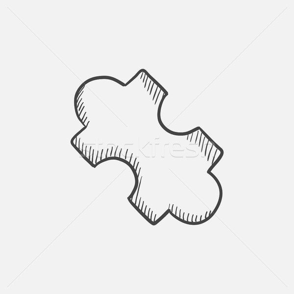 System part sketch icon. Stock photo © RAStudio