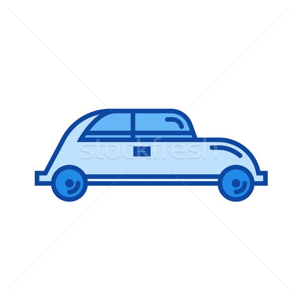 Hatchback car line icon. Stock photo © RAStudio