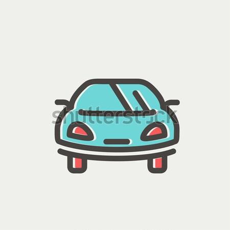 Transportation Flat Icon Stock photo © RAStudio