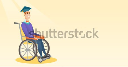 Stock photo: Patient in wheelchair.