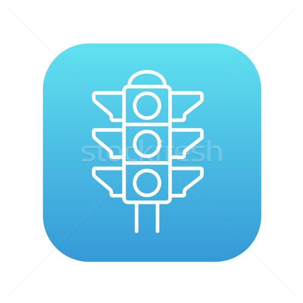 信号 行 アイコン ウェブ 携帯 インフォグラフィック ストックフォト © RAStudio